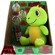 Dino Pals Scribble Me - Ipatosaurus Dinosaur Soft Plush Toy - GREEN